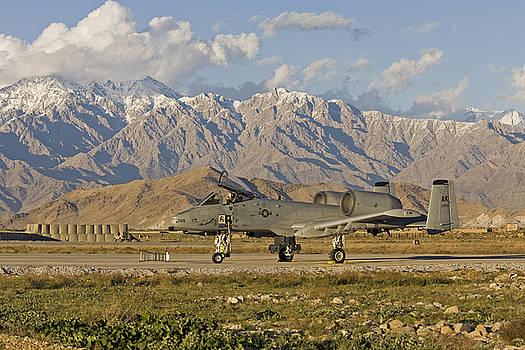 Tim Grams - A-10 Warthog at Bagram