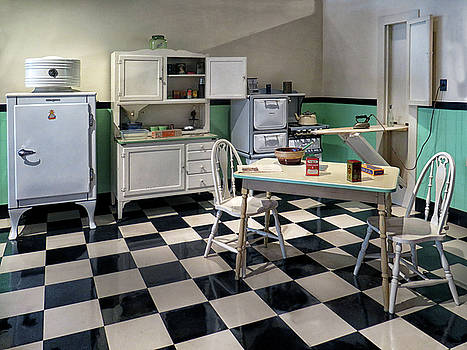A 1940's Kitchen by Dave Mills