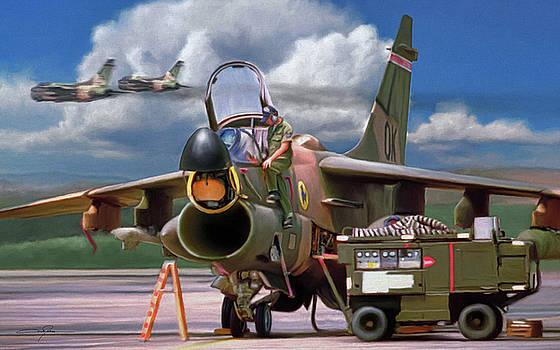Dale Jackson - A-7D Corsair II Maintenance