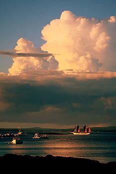 A Bar Harbor Evening by Charles Shedd