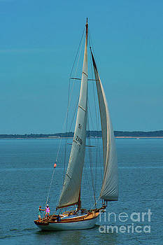 A Beautiful Day To Sail The Sound by Joe Geraci