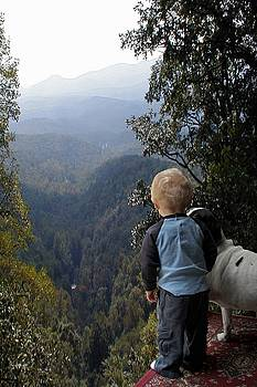 A Boy and His Dog by Robert Meanor
