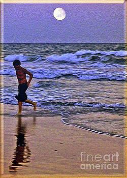 A Boy's Beach Run by Lydia Holly