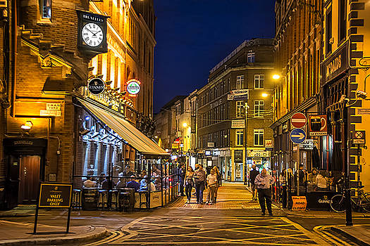 A Busy Night In Dublin by Maggie Magee Molino