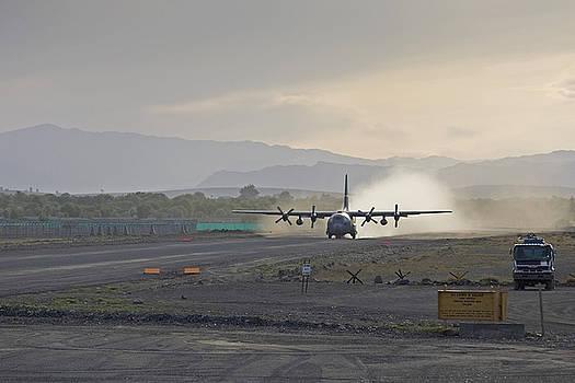 Tim Grams - A C-130 Taking Off