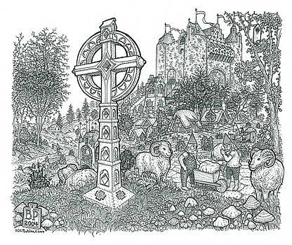 A Castle Cross variation by Bill Perkins