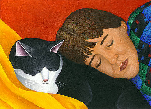 A Cat is a Furry Pillow by Carol Wilson