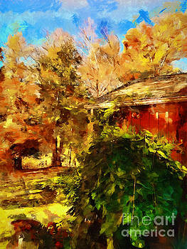 A Corner of Autumn  by Claire Bull