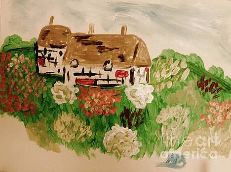 A Country Scene by Marie Bulger