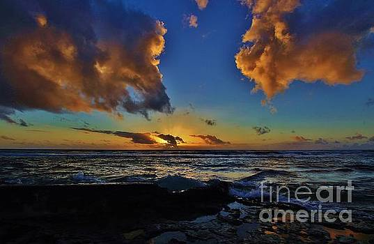 A Dali Like Sunset by Craig Wood