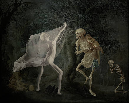 A Dance In The Woods by Terry Fleckney