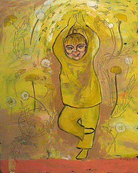 A Dandelion by Aliza Souleyeva-Alexander