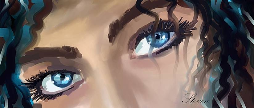 A Deeper Blue by Steven Lebron Langston