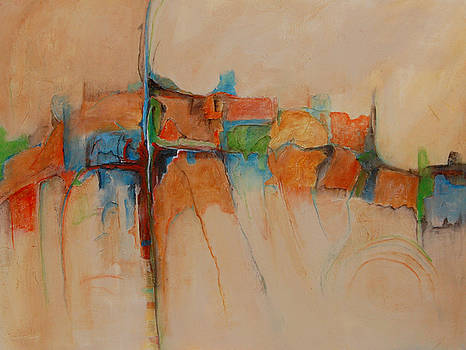 A Different Journey - SOLD  by Mary Jean Henke