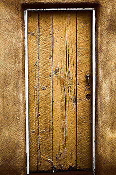 A door in old town Albequerque  by Jeff Swan