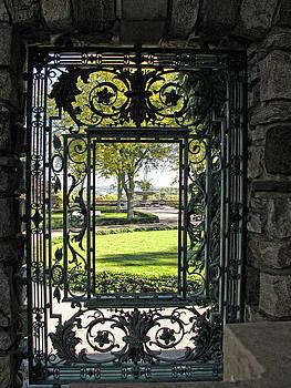 A Doorway at Kykuit by Dave Mills