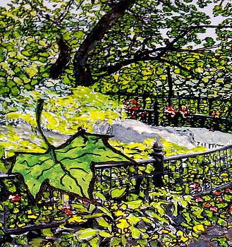 A Falling Leaf by Ruth Devorah