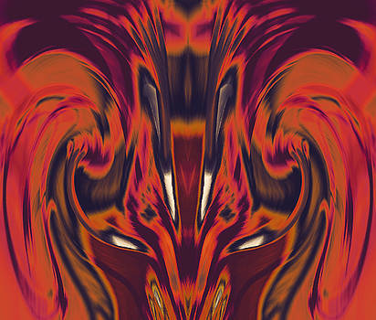 A Firebird Emerged From Your Equanimity 2015 by James Warren
