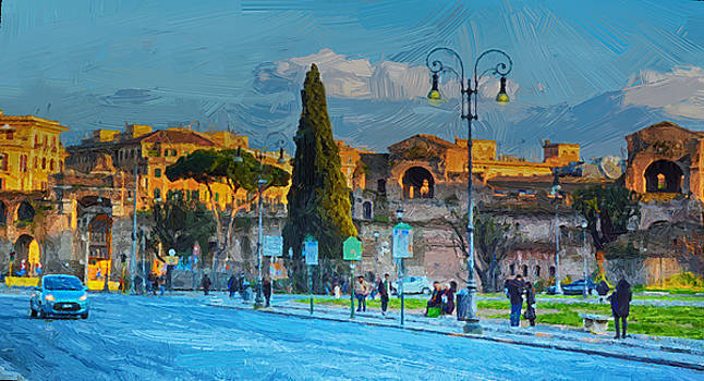 A Florence Impression by Maggie Magee Molino