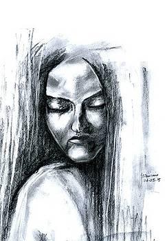 A girl ... by Foqia Zafar