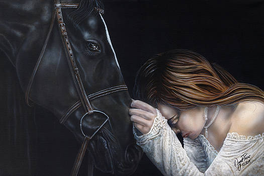 A Girl Who Loves Horses by Wayne Pruse