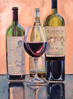 A Good Pair - Caymus and Opus by Donna Tuten