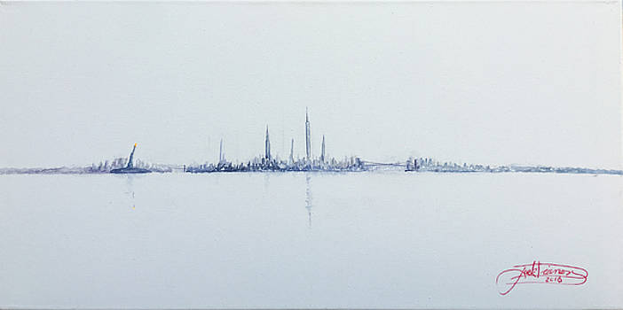 A Grey Day In Manhattan by Jack Diamond