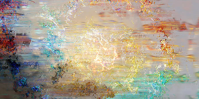 A Heart So Big - Custom Version 4 - Abstract Art by Jaison Cianelli