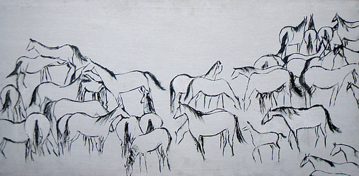 A herd by Aliza Souleyeva-Alexander