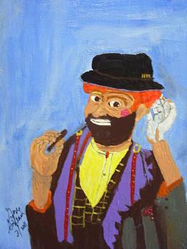 A hobo clown by Swabby Soileau