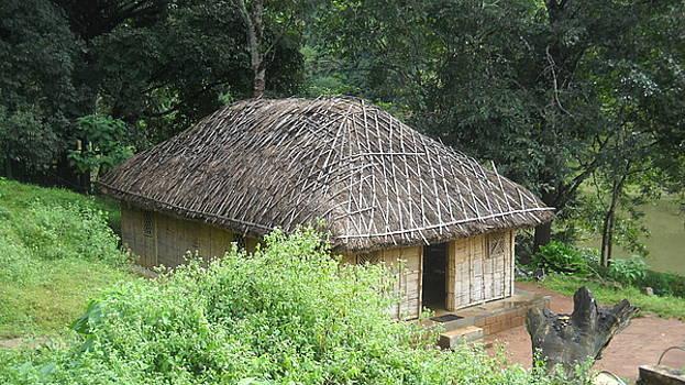 A Hut in Kerala by Sanjay Sonawani