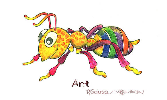 A is for Ant by Rose Gauss