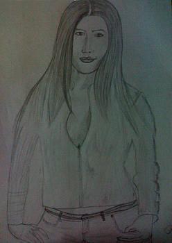 A Lady by Saleem Siddiqui