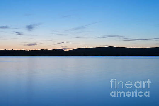A Lakes Sunset 1 by Brian Mollenkopf