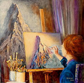 A L'atelier by Danielle Arnal