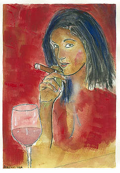 A Macanudo A Jug of Wine and Thou. by Charles Snyder