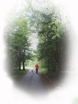 Judy Hall-Folde - A Man and His Dogs