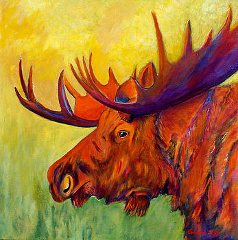 A Moose by Andrea Folts