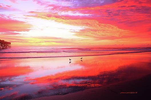 A most magnificient sunrise 8-14-16 by Julianne Felton
