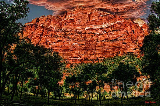 A Mount Zion National Park Utah View by Blake Richards