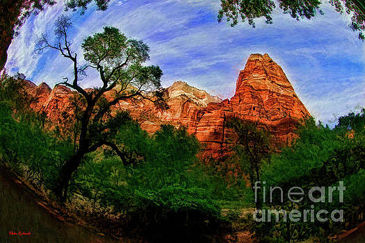 A Mount Zion National Park Wonders by Blake Richards