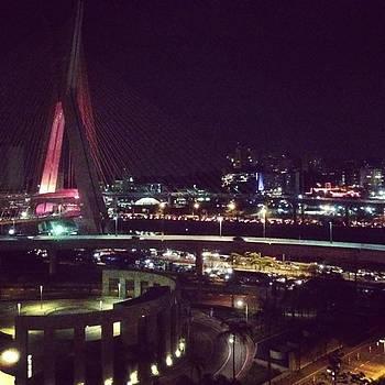 A Night View A São Paulo Before My by Francisco Colon