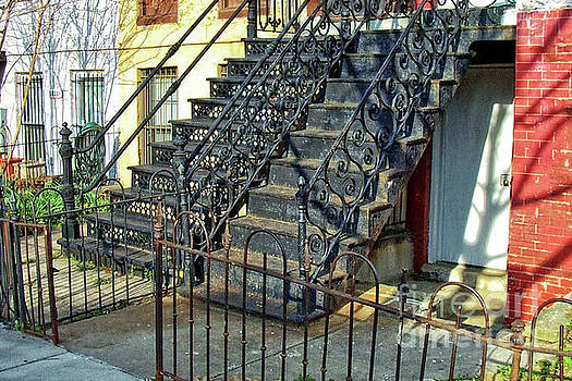 Walter Oliver Neal - A Pair of Iron Steps