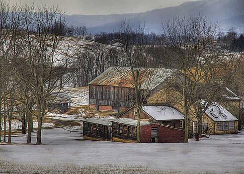 A Passing Snow Squall by Sharon Batdorf