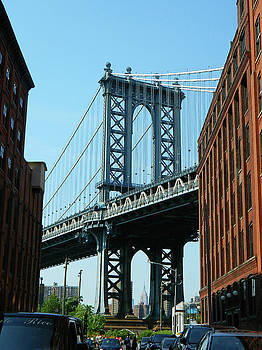 A Peak At The Manhattan Bridge by Emmy Marie Vickers
