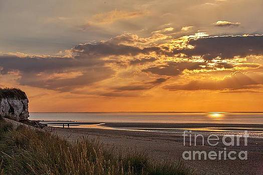 A perfect end to a day by John Edwards