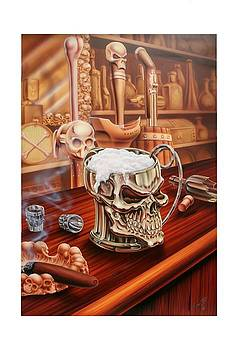 A Pint of Skull by Terry Stephens