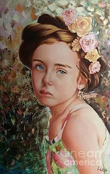 A Portrait of Milana by Liza