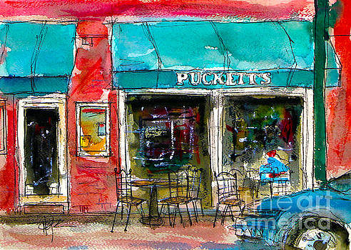 A Puckered Up Pucketts by Tim Ross