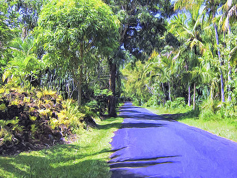 Dominic Piperata - A Quiet Lane in Kalapana